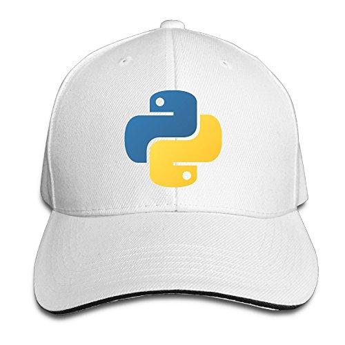 Boomy Python Programming Baseball Cap Hat White