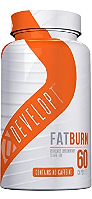DEVELOPT FAT BURN - Caffeine Free Advanced Fat Burning and Thermogenic Formula, 60 Capsules