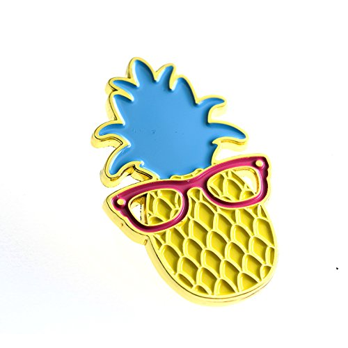 Ms. Clover Pineapple Enamel Pin Cute Fruit Enamel Pins Gifts for Women Cool Lapel Pins for Her. by Ms. Clover (Image #1)