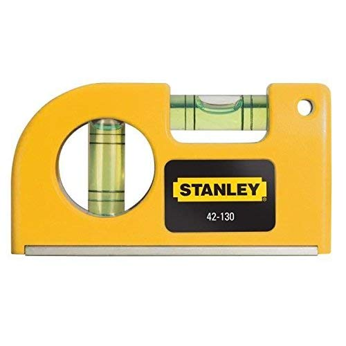 Stanley 0-42-130 Pocket Level magnetic horizontal/vertical, Yellow by Stanley (Image #3)