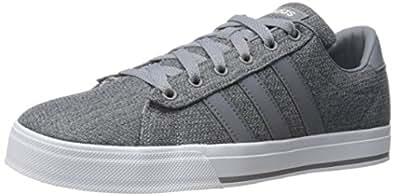 Adidas Neo Men's Daily Fashion Sneaker, Grey/Tech Grey/White, 6.5 M US