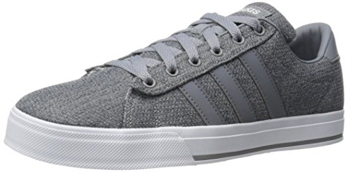 adidas Men's Neo Daily Fashion Sneaker Grey/Tech Grey/White clgcbsZ