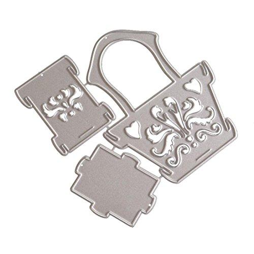 Vanvler Die Cuts for Card Making Scrapbooking Diy Metal Stencils Album Craft (B Flower (Homemade Halloween Gift Basket)