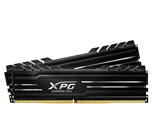 XPG Gammix D10 3000MHz (PC4 24000) 8G (4GBx2) Memory Module Kit Black (AX4U3000W4G16-DBG)