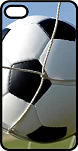 Soccer Ball Scoring A Goal Tinted Rubber Case for Apple iPhone 4 or iPhone 4s