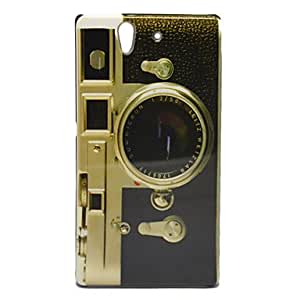 Buy Camera Pattern Smooth Hard Case for Sony L36h Xperia Z L36i C6602 C6603