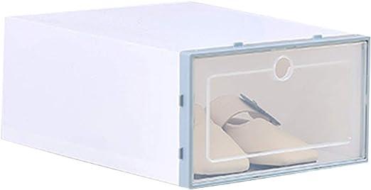 Lorjoyx Zapatos Flip Caja Transparente del Zapato del cajón Caja ...