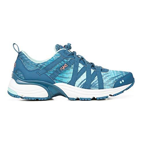 Ryka Women's Hydro Sport Blue 10 B US (Best Fitness Shoes For Women)