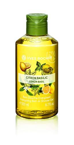 Yves Rocher Les Plaisirs Nature Energizing Bath & Shower Gel - Lemon Basil (6.7 fl.oz.)