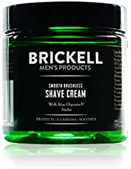 Brickell Men's Smooth Brushless Shave Cream for Men – 2oz – Natural & Organic