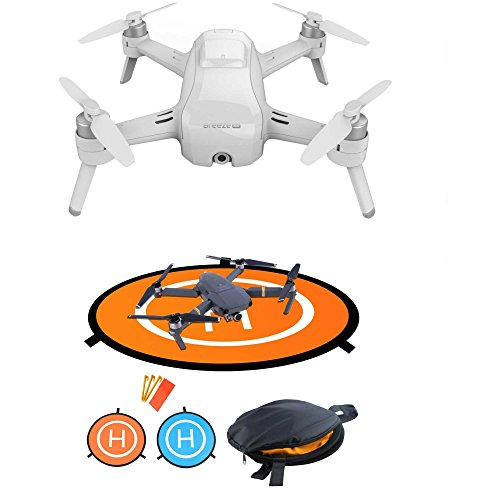 Yuneec Breeze 4K Flying Camera Drone Quadcopter + Landing Gear kIT