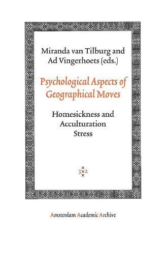 Psychological Aspects of Geographical Moves (Amsterdam Academic Archive)