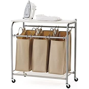 Amazon Com Storagemaniac 3 Lift Off Bags Laundry Sorter