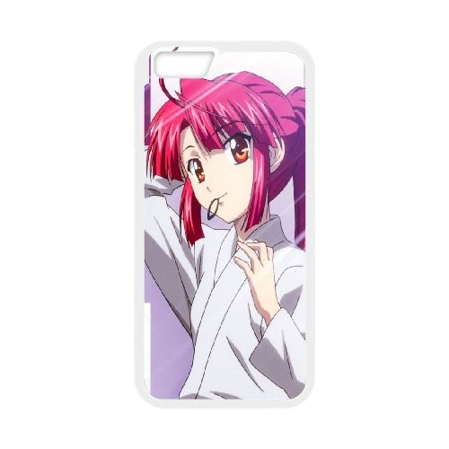 Stigma Of The Wind Wind Print Girl Kimono Hairstyle coque iPhone 6 4.7 Inch cellulaire cas coque de téléphone cas blanche couverture de téléphone portable EEECBCAAN01882