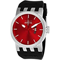 Men's 'DNA' Quartz Stainless Steel and Silicone Casual Watch, Color:Black (Model: 25052)