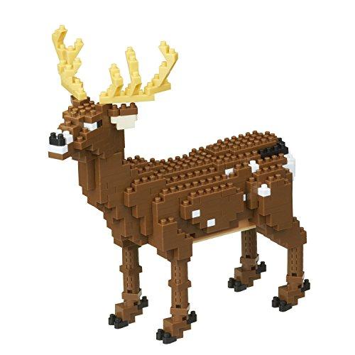 Bambi Kit - Nanoblock Deluxe Deer Building Kit, Brown