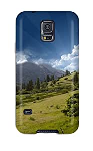 ZippyDoritEduard Design High Quality Hill Top Mountain Sky Cover Case With Excellent Style For Galaxy S5