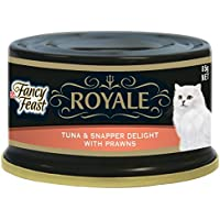 Purina Fancy Feast Royale Tuna & Snapper Delight with Prawn Wet Cat Food 1 Can, 6294003547615