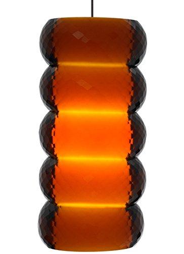 Tech Lighting 700MO2BNGLAS-LEDS830 MO2-Bangle Pendnt Amber, sn-LED by Tech Lighting