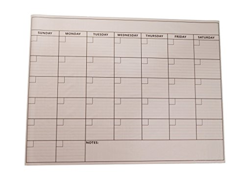 Office Usa Wall Calendar includes Dry Erase Marker by Office USA