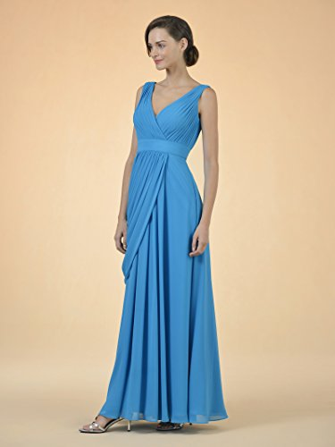 Alicepub for Bridesmaid Evening Mint V Gown Party Women Neck Green Formal Long Dress q1ZqxRgr