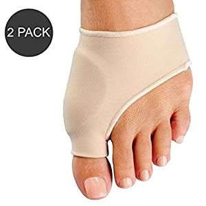 Bunion Corrector - Bunion Pads and Bunion Toe Straightener for the Ultimate Bunion Relief - Bunion Sleeves with EuroNatural Gel to Align Toes and Relieve Bunion Pain and Hallux Valgus Deformity