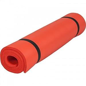 Gorilla Sports Yogamatte In Verschiedenen Farben, Rot, 190 x 60 x 1.5 cm,...