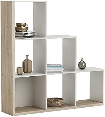 Abitti Estantería o librería en Forma de Escalera de diseño Actual ...