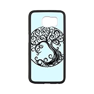 Samsung Galaxy S6 Cell Phone Case White Cycle Tree Dmewe