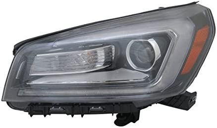 Amazon Com New Left Driver Side Halogen Headlight Assembly For 2013 2016 Gmc Acadia And 2017 Gmc Acadia Limited Projector Type Gm2502376 Automotive