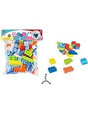 مكعبات للاطفال من هودا واي، 84 قطعة، موديل 34-6617-3