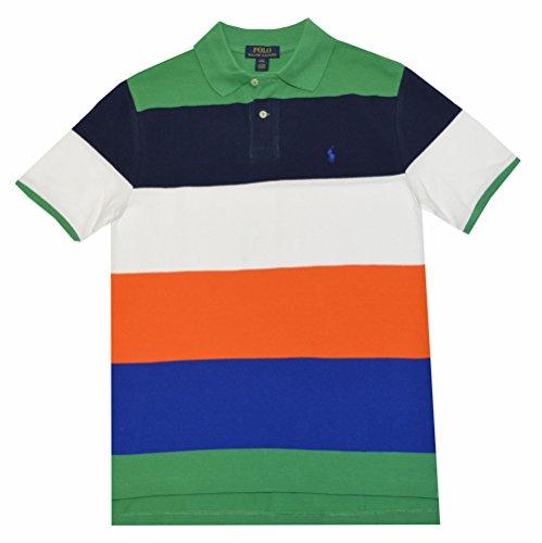 Polo Ralph Lauren Boys Striped Cotton Polo Shirt
