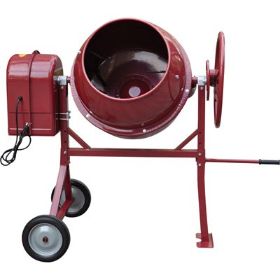 Northern Industrial Portable Electric Cement Mixer - 4.1 Cubic Ft., Model# ()