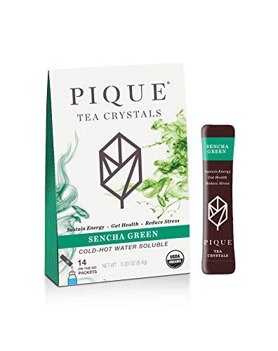 Pique Tea, Tea Crystals Sencha Organic, 14 Count