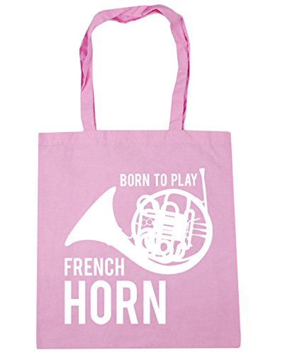 Shopping HippoWarehouse Classic Pink to 42cm litres French Play Beach Born Gym Horn Tote Bag 10 x38cm nYWnArS