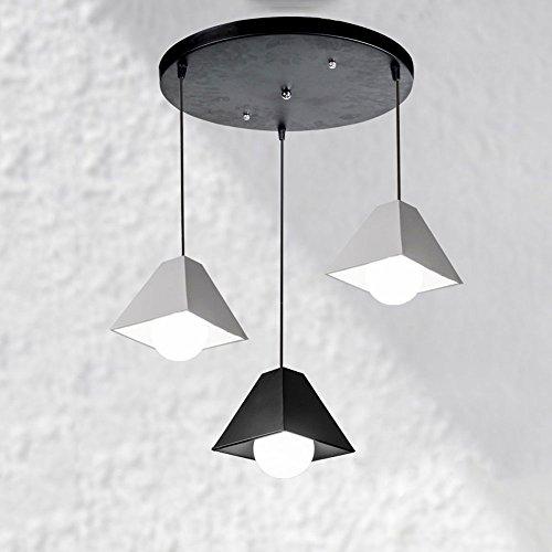 Square Drum Pendant Light in US - 5