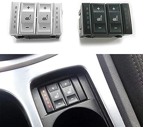Moligh Doll Für Ford Mondeo Mk3 Mk4 S Max Elektrische Sitzheizung Schalter W Rmeschalter 6m2t 19k314 Ac Bs7t 19k314 Ab Silber Auto