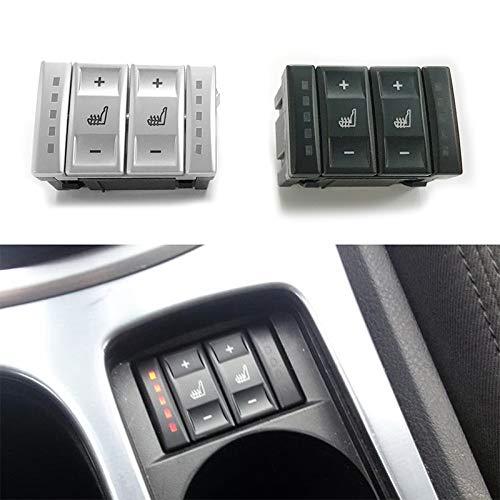 schwarz TOOGOO F/ür Ford Mondeo Mk3 Mk4 S-Max Elektrische Sitzheizung Schalter W?rmeschalter 6M2T-19K314-Ac Bs7T-19K314-Ab