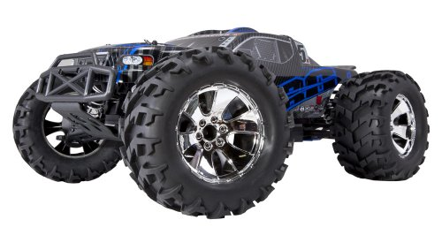 Earthquake 3.5 1/8 Scale Nitro Monster Truck Blue