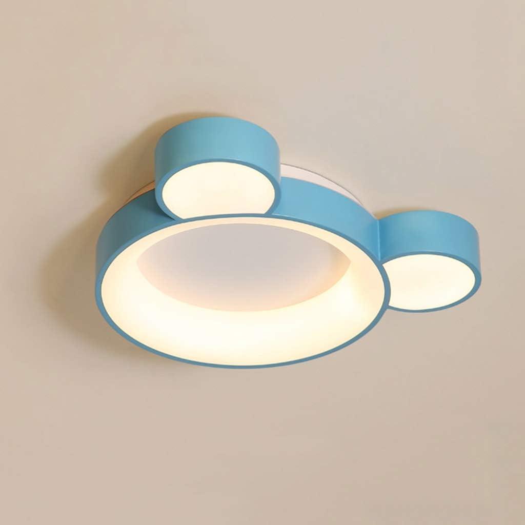 Cartoon Light Fixtures Decke Babyzimmer LED Kronleuchter Schlafzimmer Arbeitszimmer f/ür Jungen und M/ädchen Pendelleuchte Vergn/ügungspark Gang Nordic Deckenleuchte Stufenloses Dimmen 40W,White