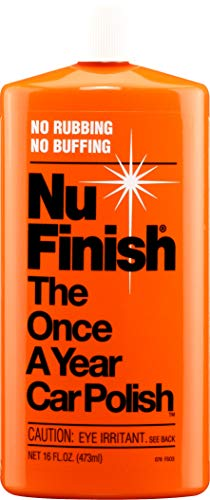 (Nu Finish Liquid Car Polish, Better than Wax, 16 fl oz.)
