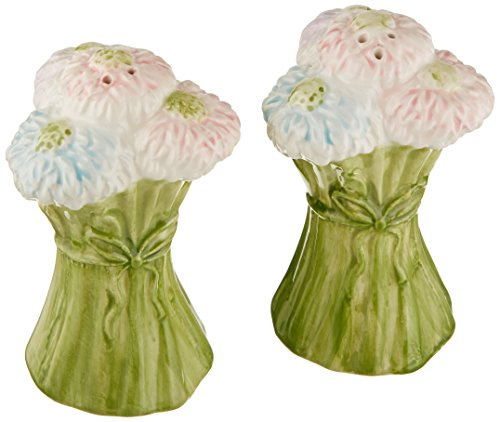 Mikasa Silk Floral Salt and Pepper Shaker Set ()