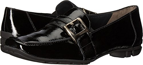 Black Crinkled Patent Leather (Paul Green Women's Newtron Oxford, Black Crinkled Patent, 7.5 Medium US)