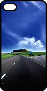Lonely Highway Heading Towards The Horizon Tinted Rubber Case for Apple iPhone 5 or iPhone 5s