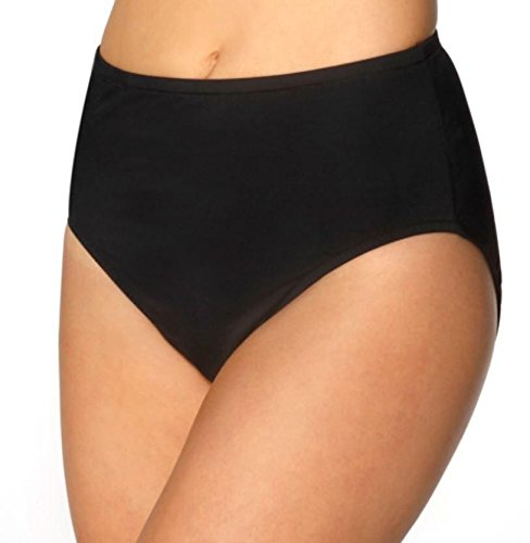 Kirkland Signature by Miraclesuit Womens Separates Basic Bottoms (18, BLACK)