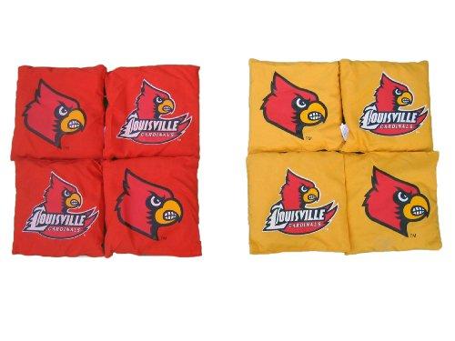 NCAA College Louisville Cardinals Bag Set (Cardinals Set Dartboard)