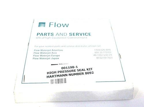 NEW FLOW PARTS 001198-1 HIGH PRESSURE SEAL KIT 0011981