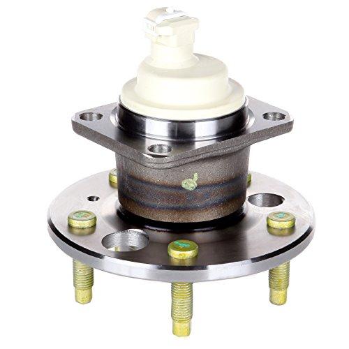 AUTOMUTO Wheel Hub Bearing, 512078 Rear 5 Lugs ABS Sensor Fit Buick Century/Chevy Lumina APV/Chevy Venture/Oldsmobile Cutlass Ciera/Pontiac Montana 1992-2005
