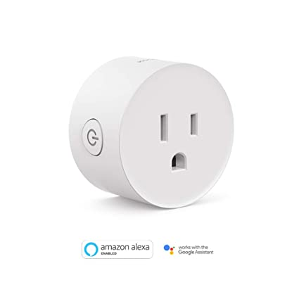 Opdateret Smart Plug, Koogeek Wi-Fi Enabled Compatible with Alexa and Google WF92