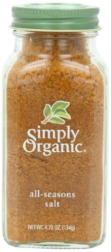 Simply Organic All-Seasons Salt, Certified Organic, 4.73-Ounce Container